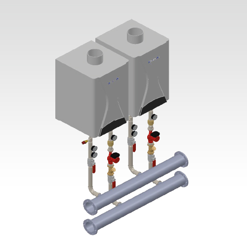 Kaskad Boiler Connection Set